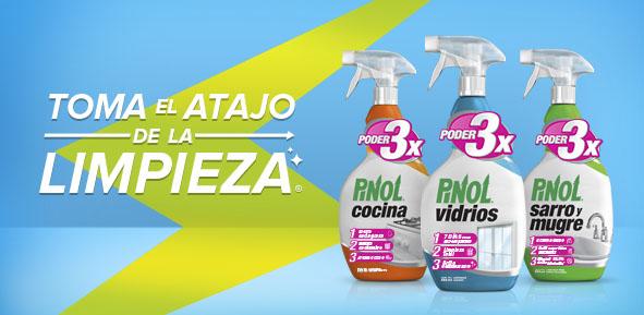 Pinol descubre los 1000 usos pinol for Anuncios de limpieza